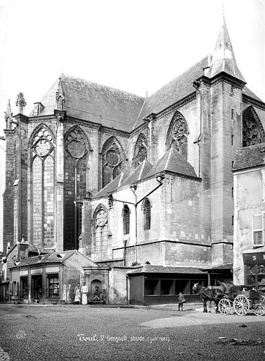 Eglise Saint-Gengoult Abside, côté sud, Mieusement, Médéric (photographe),