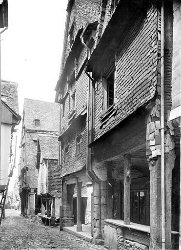 Maisons Façades sur rue, Mieusement, Médéric (photographe),