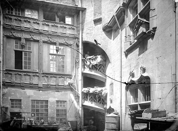 Hôtel Chambellan ou Hôtel des Ambassadeurs d'Angleterre Façade, Mieusement, Médéric (photographe),