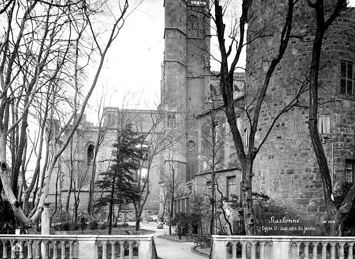 Cathédrale Saint-Just (ancienne) Abside, côté nord, prise du jardin, Mieusement, Médéric (photographe),