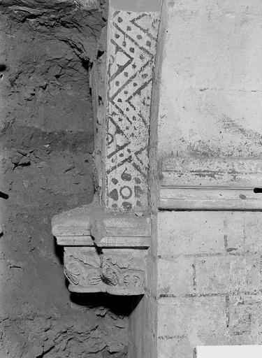 Cathédrale Notre-Dame-de-l'Assomption Chapiteaux découverts de la construction primitive, Service photographique,