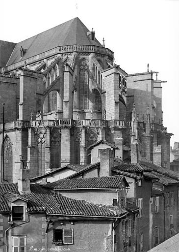 Cathédrale Saint-Etienne Abside, côté sud-est, Mieusement, Médéric (photographe),