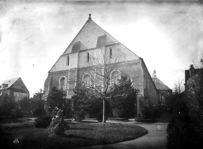 Hôtel-Dieu (ancien hôpital Saint-Jean) Ancienne salle des malades : Ensemble sud, Berthault (photographe),