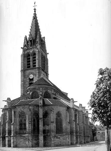 Eglise Saint-Germain Ensemble est, Durand, Eugène (photographe),