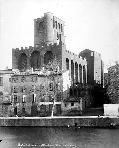 Cathédrale Saint-Etienne (ancienne) Ensemble sud-ouest, Mieusement, Médéric (photographe),