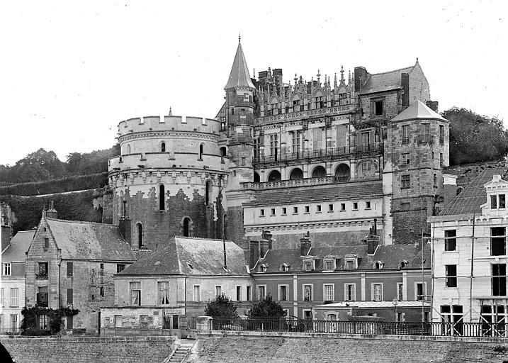 Château Ensemble nord, sur la Loire, Cousin,