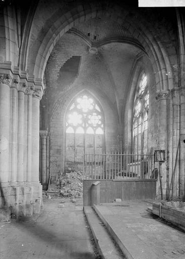Eglise Bras nord du transept, Service photographique,