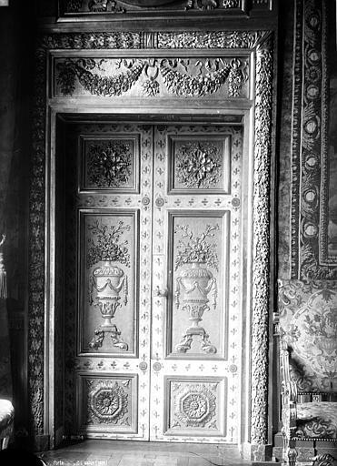 Hôtel de Lauzun ou Hôtel de Pimodan Porte du petit salon, côté droit, Mieusement, Médéric (photographe),