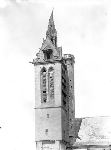 Eglise Saint-Nicolas (ancienne) Clocher, côté sud-est, Durand, Jean-Eugène (photographe),