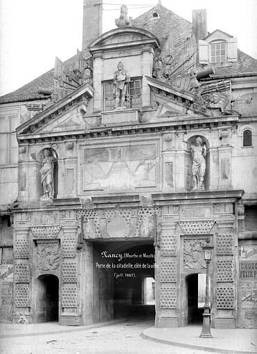 Porte de la Citadelle Côté ville, Mieusement, Médéric (photographe),