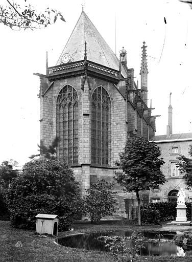 Cour d'appel Sainte-Chapelle, abside, Durand, Eugène (photographe),