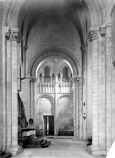 Abbaye aux Dames (ancienne), Eglise Sainte-Trinité Intérieur, transept nord, Durand, Eugène (photographe),