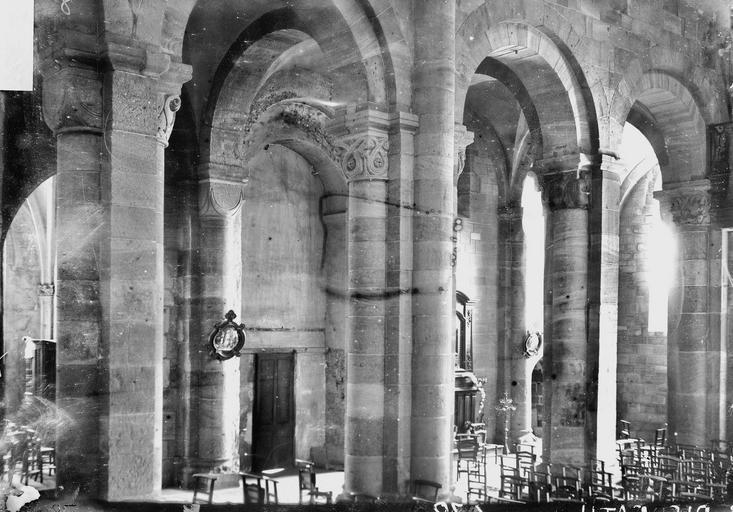 Cathédrale Saint-Dié Déambulatoire, Durand, Georges (photographe à Amiens),