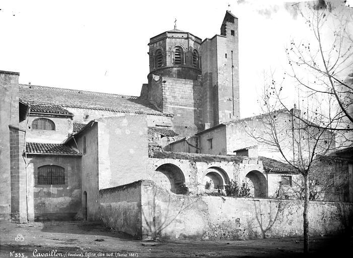 Cathédrale Notre-Dame-et-Saint-Véran (ancienne) ou église Saint-Véran Ensemble sud, Mieusement, Médéric (photographe),