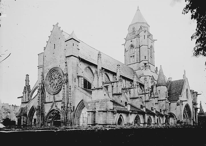 Eglise du Vieux-Saint-Etienne Ensemble ouest, Enlart, Camille (historien),