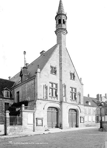 Hôtel de Ville Grande façade, Durand, Eugène (photographe),