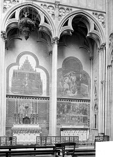Cathédrale Notre-Dame Vue intérieure du transept sud, Heuzé, Henri (photographe),