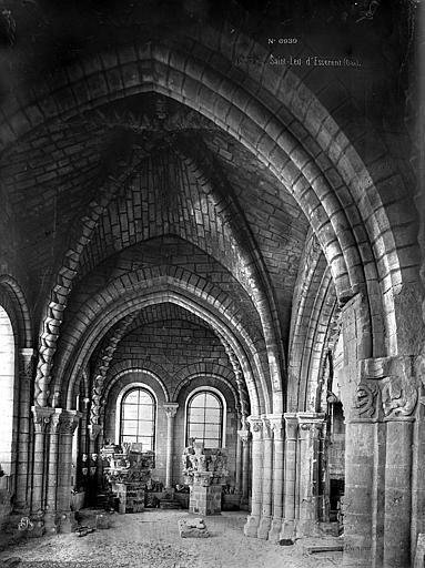 Abbaye Saint-Nicolas (ancienne) Cloître, Durand, Eugène (photographe),