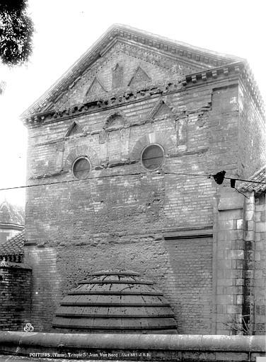 Baptistère Saint-Jean Vue nord, Durand, Eugène (photographe),