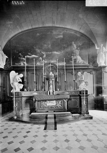 Abbaye aux Hommes (ancienne) Chapelle, autel, Service photographique,