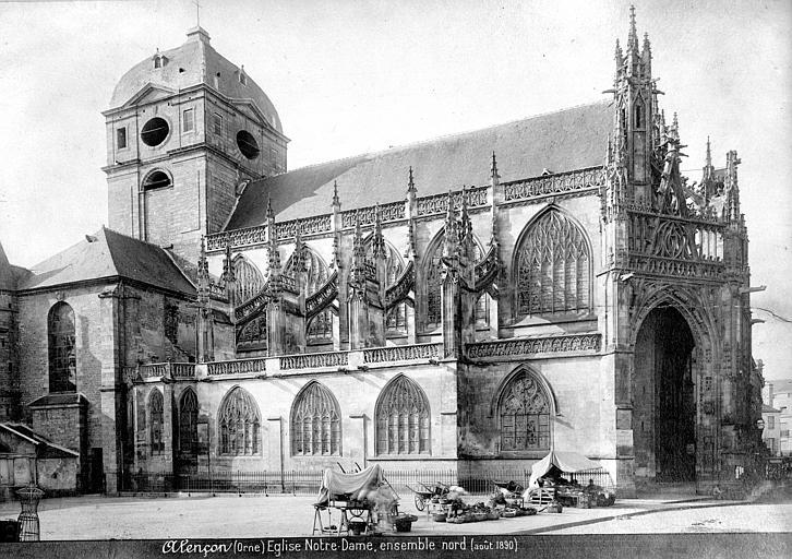 Eglise Notre-Dame Ensemble nord, Mieusement, Médéric (photographe),