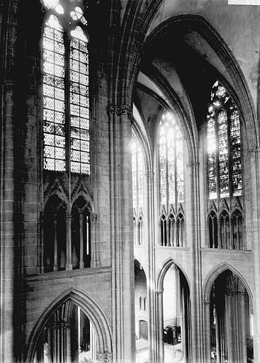 Cathédrale Notre-Dame Croisée, partie haute, Enlart, Camille (historien),
