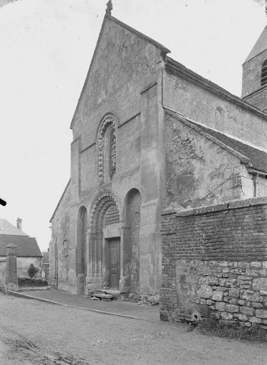Eglise Façade ouest, Service photographique,
