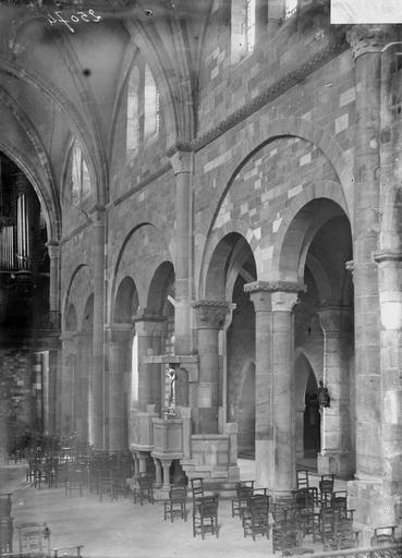 Cathédrale Saint-Dié Nef, travée nord, Durand, Georges (photographe à Amiens),
