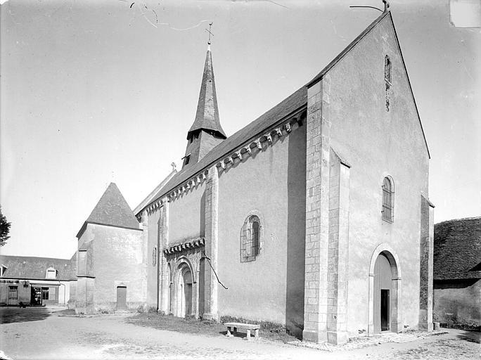 Eglise Saint-Saturnin Ensemble nord-ouest, Heuzé, Henri (photographe),