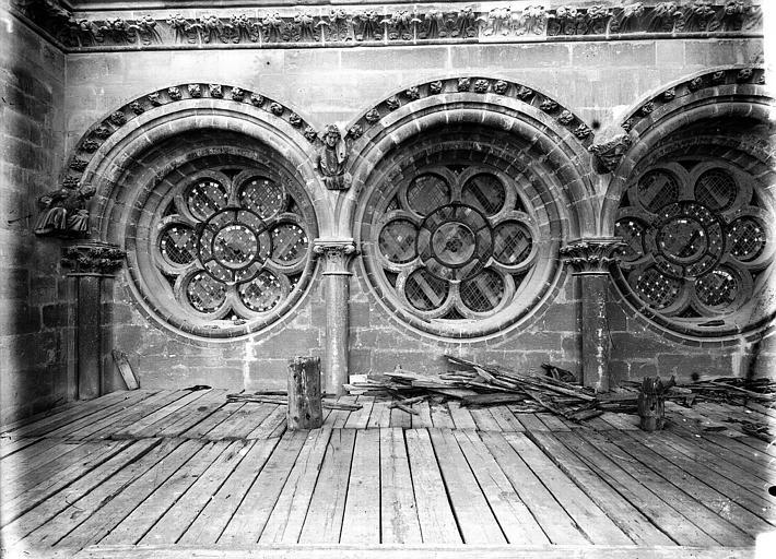 Cathédrale Notre-Dame Triple oculus sous la rose sud, Lajoie, Abel,