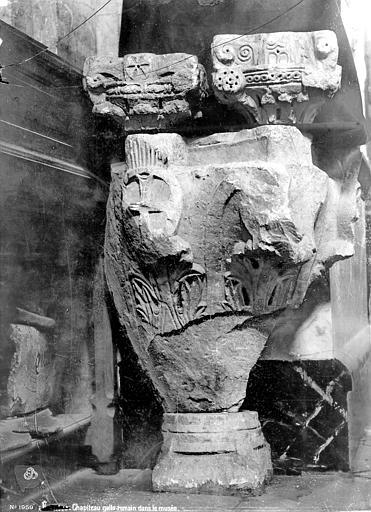 Chapiteau gallo-romain, Mieusement, Médéric (photographe),