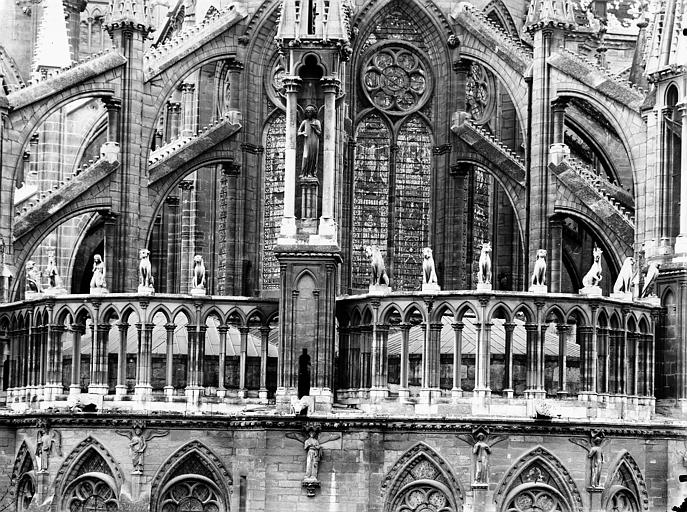 Cathédrale Notre-Dame Galerie de l'abside, Lajoie, Abel,