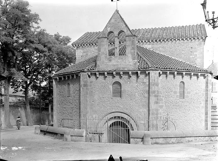 Baptistère Saint-Jean Ensemble ouest, Gossin (photographe),