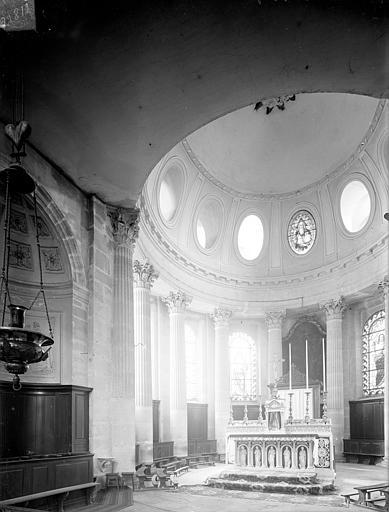 Eglise Saint-Pierre-et-Saint-Paul Vue intérieure du choeur, Heuzé, Henri (photographe),