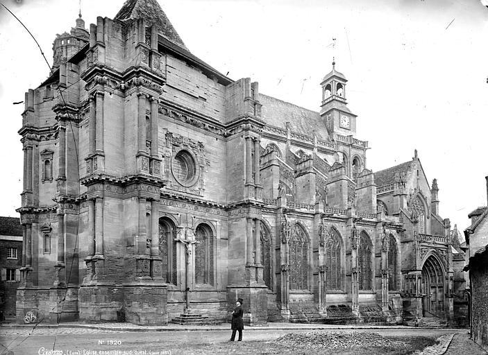 Eglise Saint-Gervais-Saint-Protais Ensemble sud-ouest, Mieusement, Médéric (photographe),