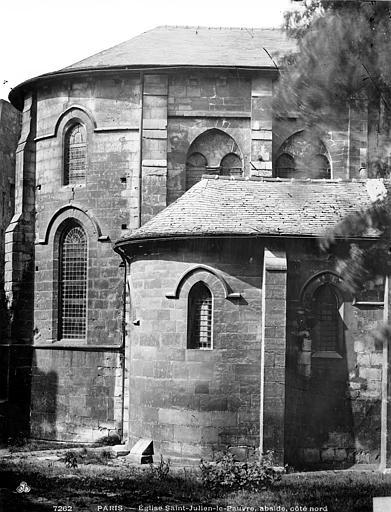 Eglise Saint-Julien-le-Pauvre , Durand, Eugène (photographe),