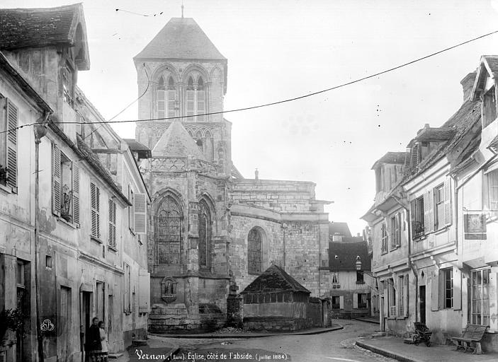 Eglise Notre-Dame Abside, Mieusement, Médéric (photographe),
