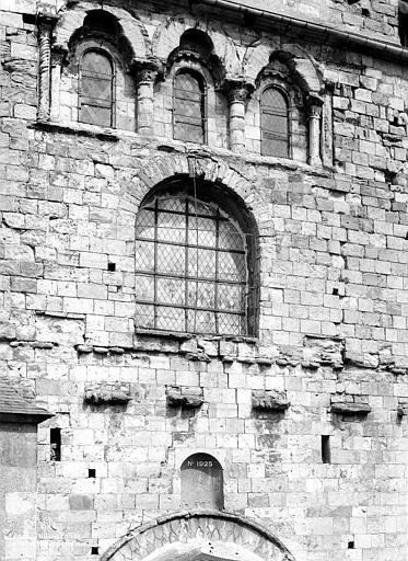 Eglise Saint-Etienne Façade ouest : partie centrale au-dessus du portail, Mieusement, Médéric (photographe),