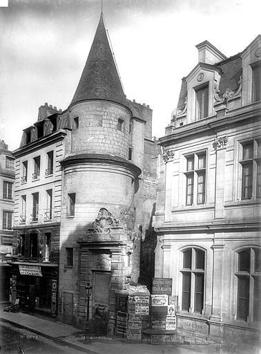 Abbaye Saint-Martin-des-Champs (ancienne) Tour, Durand, Eugène (photographe),