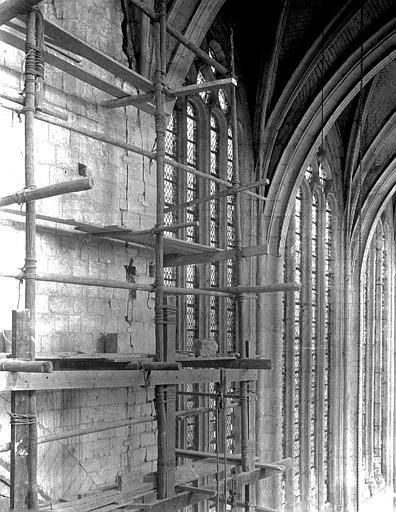 Eglise Saint-Etienne Intérieur, Chaine, Henri (architecte),