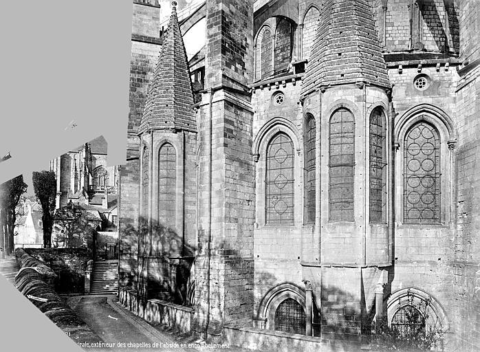 Cathédrale Saint-Etienne Chevet : chapelles absidales, Mieusement, Médéric (photographe),