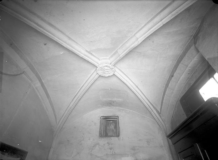 Hôtel Mallet de Vendègre ou Maison du Bailli Vue intérieure : Voûte du rez-de-chaussée, Jarron (photographe),