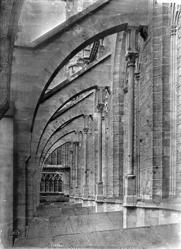 Cathédrale Notre-Dame Façade nord : Arcs-boutants et couverture des chapelles, Mieusement, Médéric (photographe),
