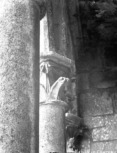 Eglise Chapiteau, Louzier (photographe),