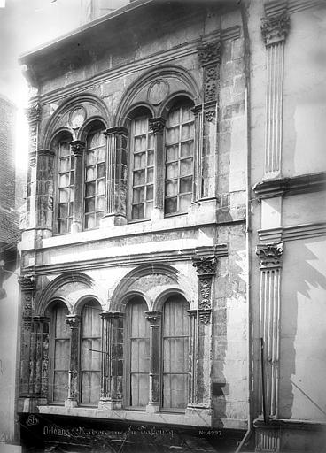 Pavillon dit de Jeanne d'Arc Façade sur rue : premier et second étages, Mieusement, Médéric (photographe),