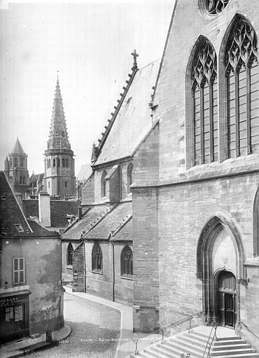 Eglise Saint-Jean Façade sud : Transept et partie ouest, Durand, Jean-Eugène (photographe),