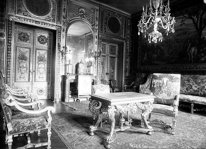 Hôtel de Lauzun ou Hôtel de Pimodan Petit salon du premier étage, Mieusement, Médéric (photographe),
