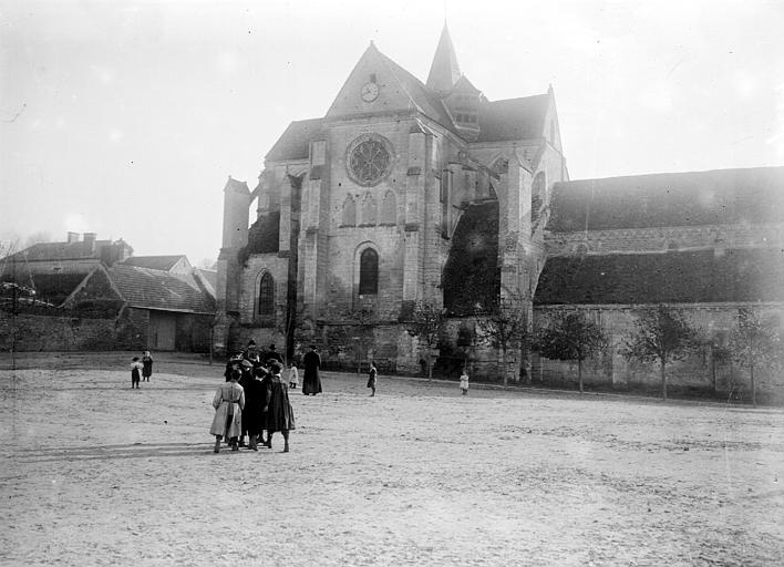 Eglise Saint-Lucien Façade nord, Chaine, Henri (architecte),