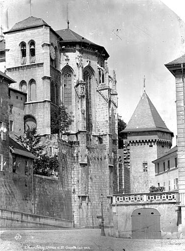 Château des Ducs de Savoie (ancien), Préfecture Sainte-Chapelle : Abside, Mieusement, Médéric (photographe),