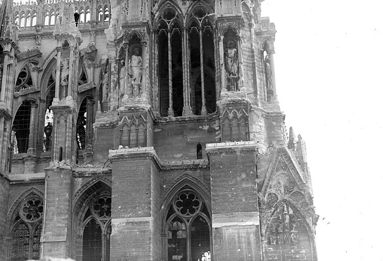 Cathédrale Angle nord-ouest, Goubeau (photographe),